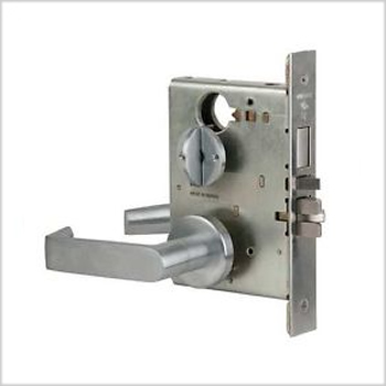 Schlage Commercial L-Series Mortise Lock w/ 06 Lever & Rose Trim