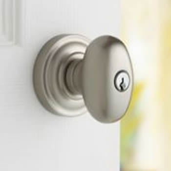 Baldwin Estate 5225 Keyed Entry Egg Knob