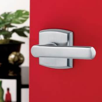 Baldwin Estate 5485V Soho Lever w/ R026 Rose